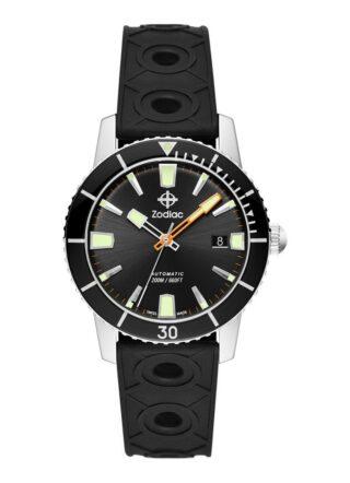 Zodiac Super Seawolf 53 Compression ZO9256 Armbanduhr Herren, Schwarz