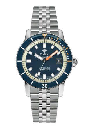 Zodiac Super Seawolf ZO9266 Armbanduhr Herren, Silber