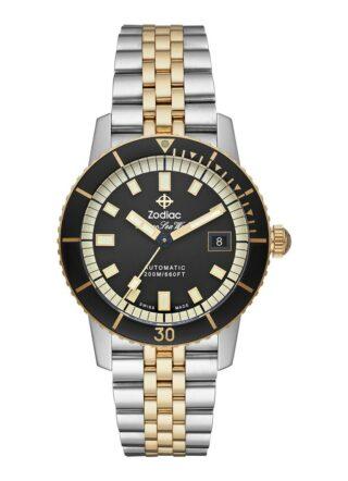 Zodiac Super Seawolf ZO9271 Armbanduhr Herren, Silber