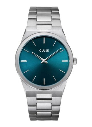 cluse Vigoureux 40 CW0101503003 Armbanduhr Herren, Silber