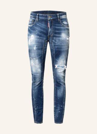 Dsquared2 Jeans Tidy Biker Tapered Jeans Herren, Blau