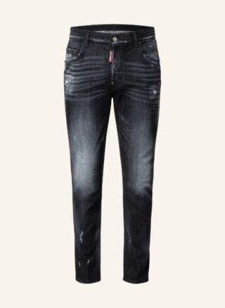 Dsquared2 Skater Regular Fit Jeans Herren, Schwarz