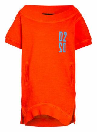 dsquared2 Oversized-Sweatshirt rot