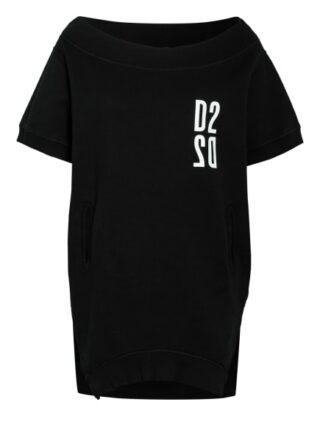 dsquared2 Oversized-Sweatshirt schwarz