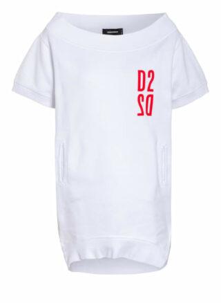 dsquared2 Oversized-Sweatshirt weiss