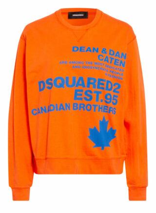 dsquared2 Sweatshirt rot