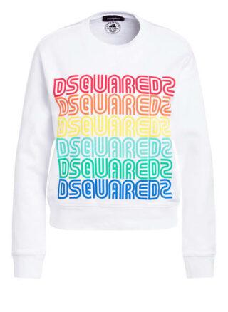 dsquared2 Sweatshirt weiss
