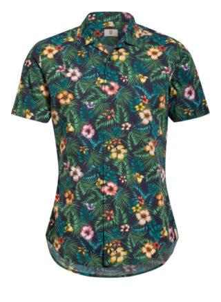 Q1 Manufaktur Resorthemd Herren, Blau