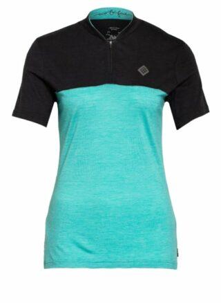 triple2 Radshirt Swet Mit Merinowolle blau