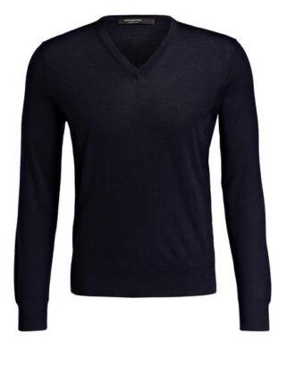 Ermenegildo Zegna Cashmere-Pullover Herren, Blau