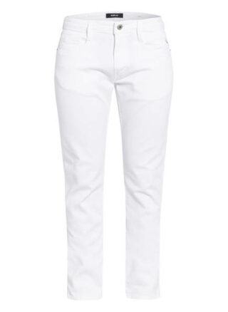 Replay Anbass Skinny Jeans Herren, Weiß