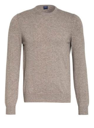 FEDELI Argentina Cashmere-Pullover Herren, Beige