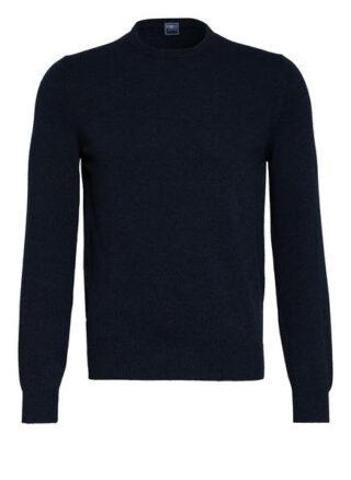 FEDELI Argentina Cashmere-Pullover Herren, Blau