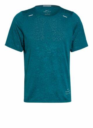 Nike Rise 365 Run Division T-Shirt Herren, Grün