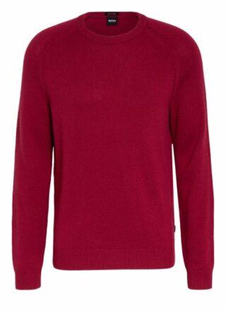 Boss Davido Cashmere-Pullover Herren, Rot