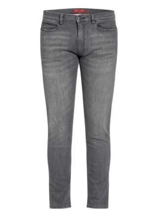 HUGO 734 Skinny Jeans Herren, Grau