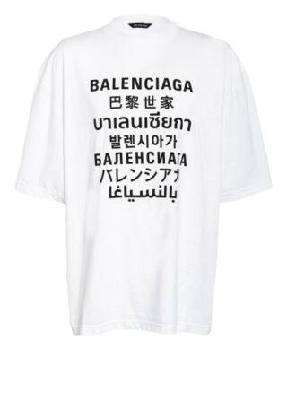Balenciaga Oversized-Shirt Herren, Weiß