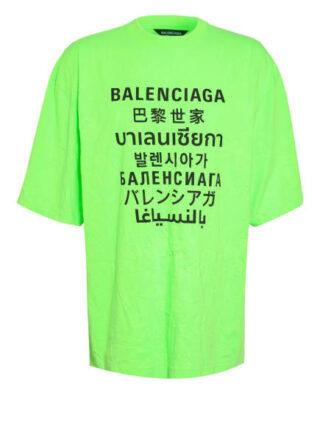 Balenciaga Oversized-Shirt Herren, Grün