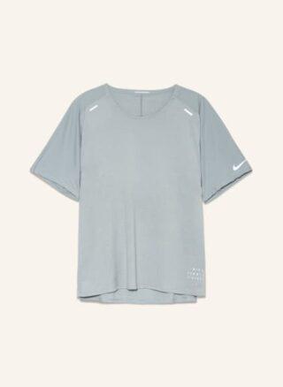 Nike Techknit Ultra Run Division T-Shirt Herren, Grau