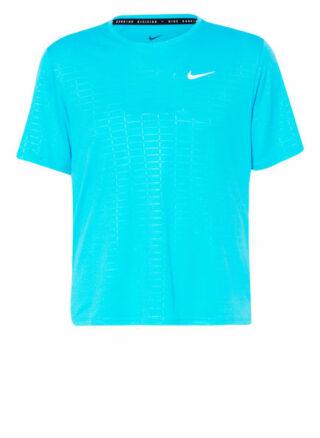 Nike Run Devision Miler T-Shirt Herren, Blau