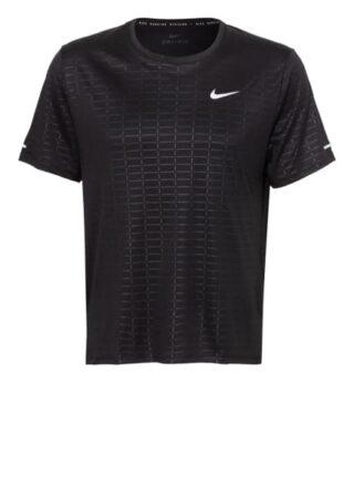 Nike Run Devision Miler T-Shirt Herren, Schwarz