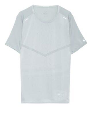 Nike Rise 365 Run Division T-Shirt Herren, Grau