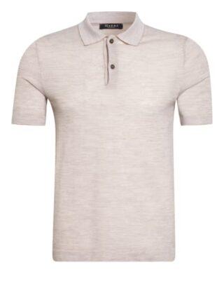 maerz muenchen Strick-Poloshirt Herren, Beige