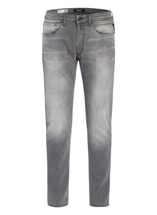 Replay Willbi Regular Fit Jeans Herren, Grau