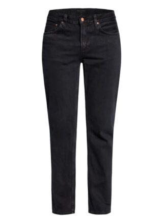 Nudie Jeans Gritty Jackson Regular Fit Jeans Herren, Schwarz