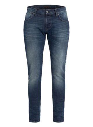 Nudie Jeans Tight Terry Skinny Jeans Herren, Blau