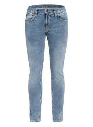 Nudie Jeans Terry Tight Fit Skinny Jeans Herren, Blau