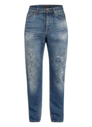 Nudie Jeans Steady Eddie Ii Regular Fit Jeans Herren, Blau