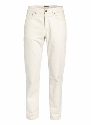 Nudie Jeans Gritty Jackson Regular Fit Jeans Herren, Weiß