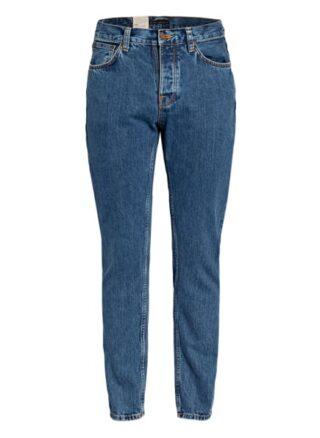 Nudie Jeans Eddie Ii Regular Fit Jeans Herren, Blau