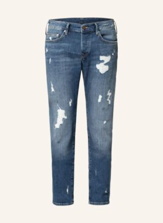 True Religion Jeans Rocco Relaxed Skinny Jeans Herren, Blau