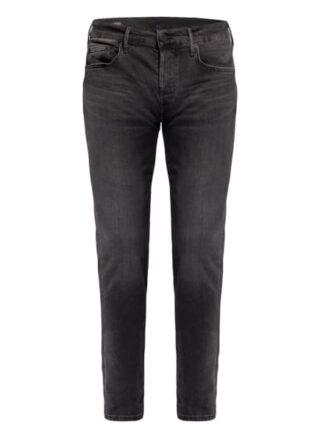 True Religion Rocco Skinny Jeans Herren, Schwarz