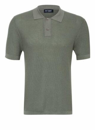 Hackett London Strick-Poloshirt Herren, Grün