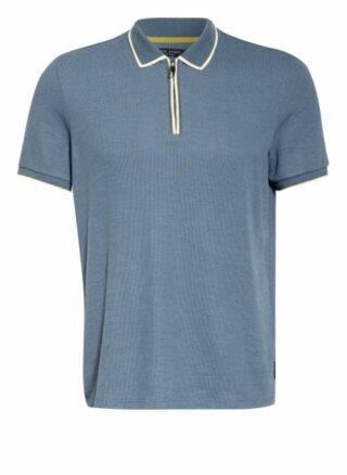 Ted Baker Sello Strick-Poloshirt Herren, Blau