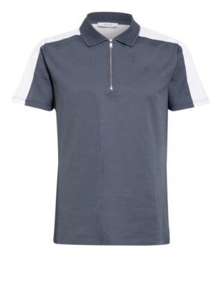 REISS Hackney Pique-Poloshirt Herren, Blau