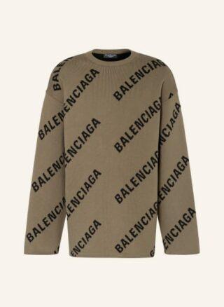 Balenciaga Oversized-Pullover Herren, Beige