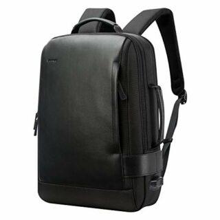 BOPAI Business 15.6 Zoll Laptop Rucksack, Schwarz