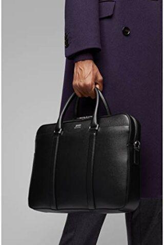 BOSS Signature S Businesstasche, Schwarz