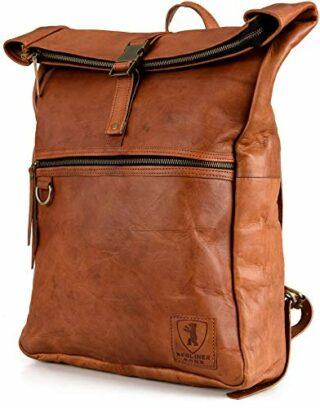 Berliner Bags Utrecht XL Lederrucksack, Braun