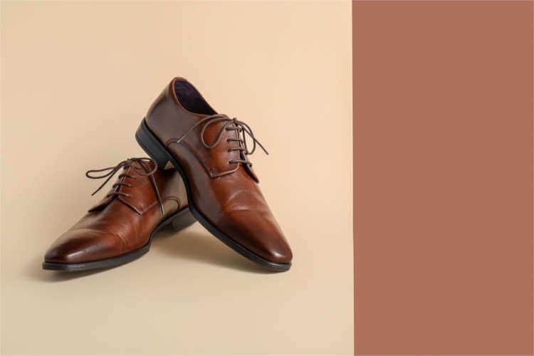 Herrenschuhe, Schuhe Herren, Businessschuhe aus Leder, Lederschuhe in Braun