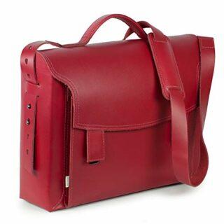 Jahn-Tasche Luxus Aktentasche, Rot