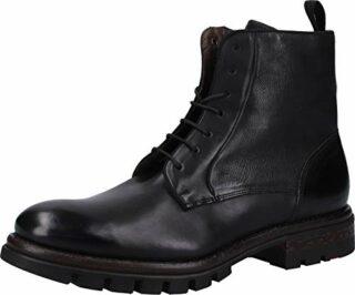 LLOYD Florenz Schnür-Boots, Schwarz