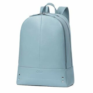 CLUCI Damen Rucksack Laptop, Blau