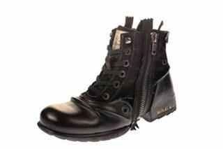Replay CLUTCH Biker Boots, Schwarz