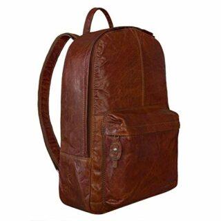 STILORD Marley Rucksack Vintage für Business, Braun