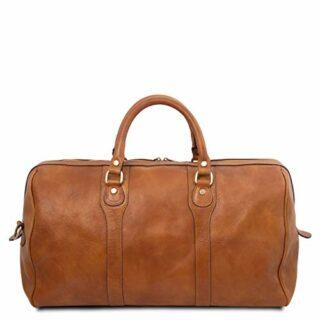 Tuscany Leather Oslo Weekender Reisetasche, Braun